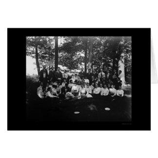 Oberlin College Class of 1898 Card