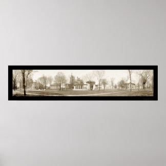 Oberlin College, Ohio Photo 1909 Poster