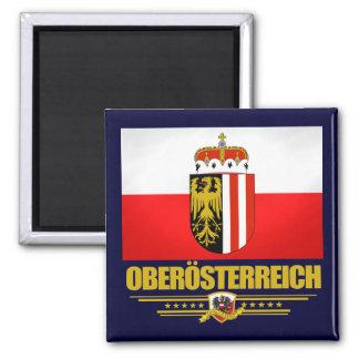 Oberosterreich (Upper Austria) Square Magnet