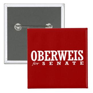 OBERWEIS FOR SENATE 2014 2 INCH SQUARE BUTTON
