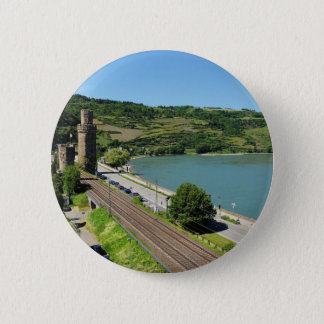 Oberwesel on the Rhine 2 Inch Round Button