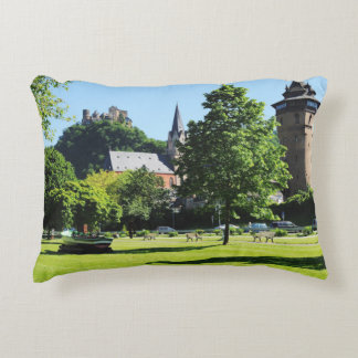 Oberwesel on the Rhine Decorative Pillow