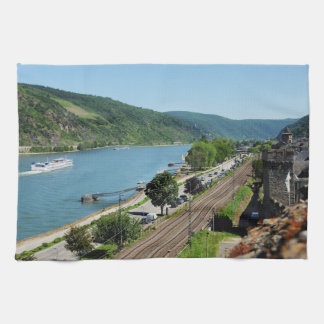 Oberwesel on the Rhine Kitchen Towel
