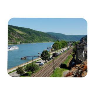 Oberwesel on the Rhine Magnet