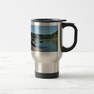 Oberwesel on the Rhine Travel Mug