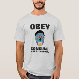 Obey Consume Sleep Conform T-Shirt