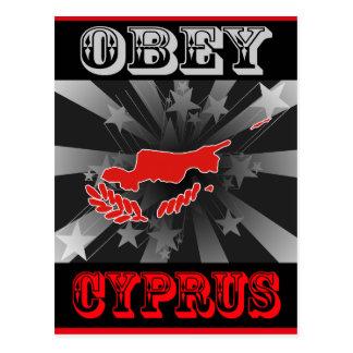 Obey Cyprus Postcard