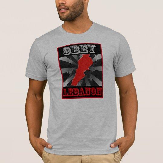 Obey Lebanon T-Shirt