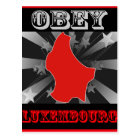 Obey Luxembourg Postcard