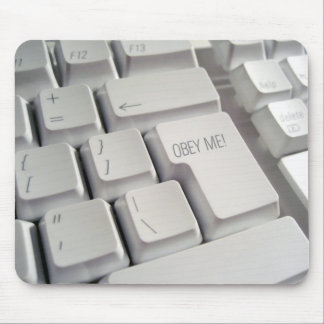 Obey Me! Keyboard Mouse Pad