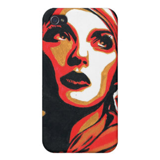 Obey Painting Case Cases For iPhone 4