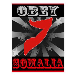 Obey Somalia Postcard