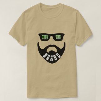 "Obey the Beard Green ""Eyes"" T-Shirt"