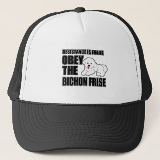 Obey The Bichon Frise Trucker Hat