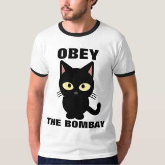 OBEY THE BOMBAY Cat T-shirts