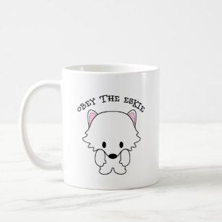 Obey The Eskie Coffee Mug
