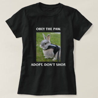 Obey the Paw Women's Tee