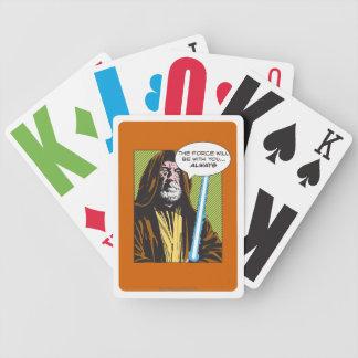 Obi-Wan Kenobi Comic Bicycle Playing Cards