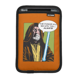 Obi-Wan Kenobi Comic iPad Mini Sleeves