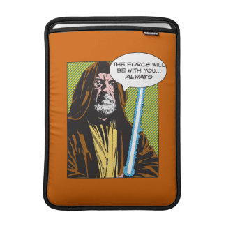 Obi-Wan Kenobi Comic MacBook Sleeves