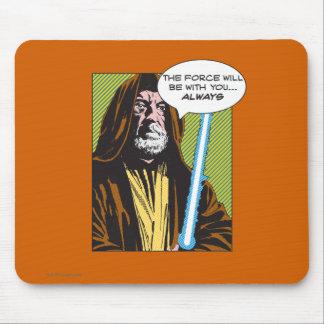 Obi-Wan Kenobi Comic Mouse Pad