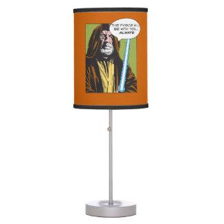 Obi-Wan Kenobi Comic Table Lamp
