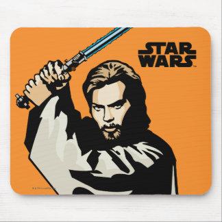 Obi-Wan Kenobi Icon Mouse Pad