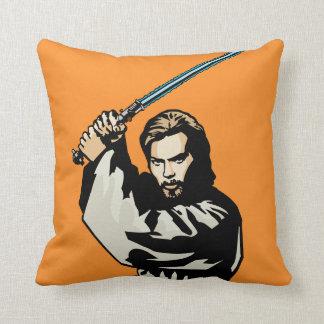 Obi-Wan Kenobi Icon Throw Pillow