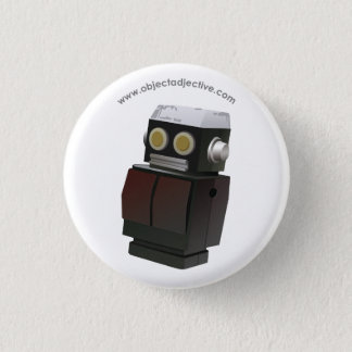 Object Adjective Robot 1 Inch Round Button