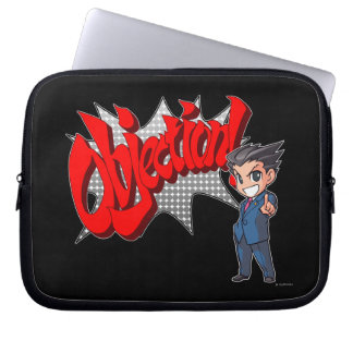 Objection! Phoenix Wright Chibi Computer Sleeve