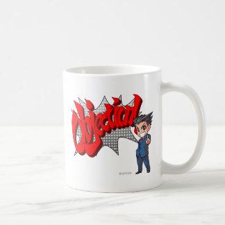 Objection! Phoenix Wright Chibi Coffee Mugs