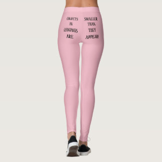 Objects in leggings are smaller than they appear!