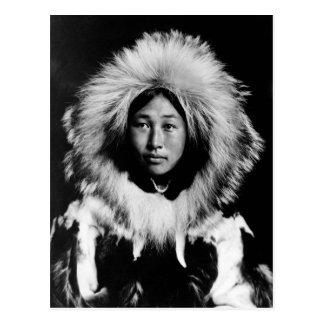 Obleka, an Eskimo woman, 1907 Postcard