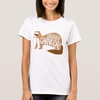 Obligate Carnivore Cinnamon/Chocolate Ferret Shirt