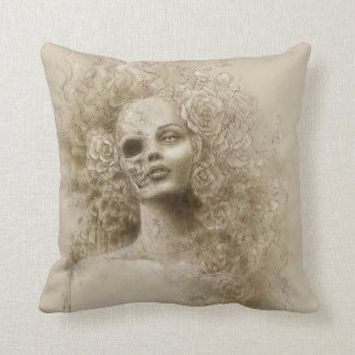 Oblivion Macabre Fantasy Art Pillow