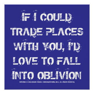 Oblivion Print
