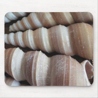 Oblong  Summer Seashells, Summer Season Mouse Pad