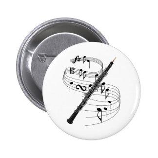 Oboe 2 Inch Round Button