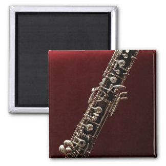 Oboe closeup photograph magnet