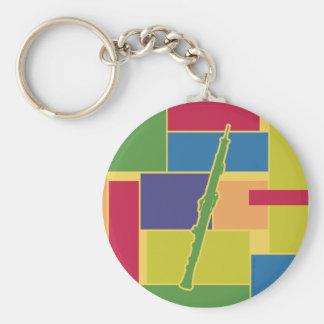 Oboe Colorblocks Keychain