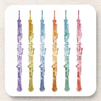 Oboe Crayons Coaster