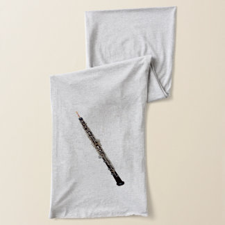 Oboe Detailed Realistic-Looking Image Scarf