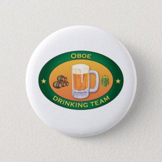 Oboe Drinking Team 2 Inch Round Button
