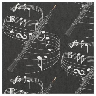 Oboe Fabric- Dark Fabric