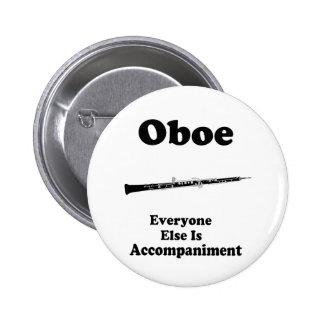 Oboe Gift 2 Inch Round Button