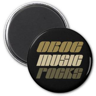 Oboe Music Rocks Gift Magnet