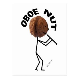 Oboe Nut Postcard