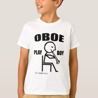 Oboe Play Boy T-Shirt