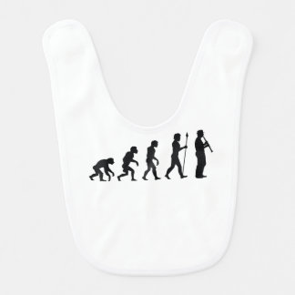 Oboe Player Evolution Bibs