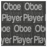 Oboe Player Extraordinaire Fabric